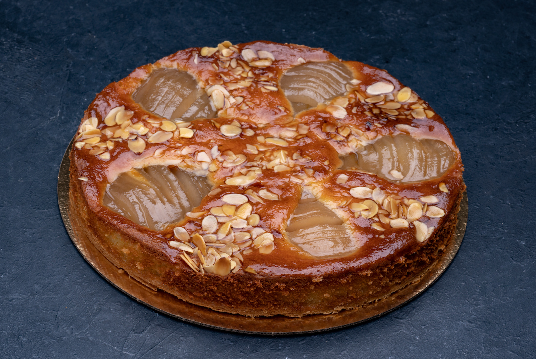 Rustic Pear Tart 9″