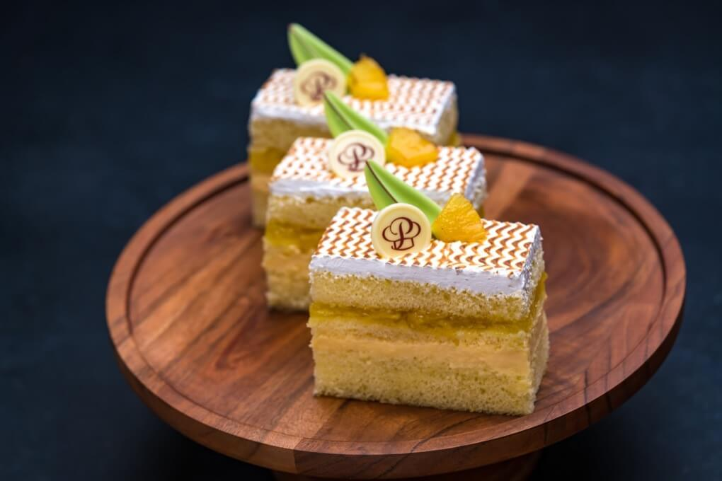 Pineapple Custard Cuban Cake Individual
