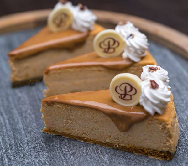 Pumpkin Cheesecake Individual