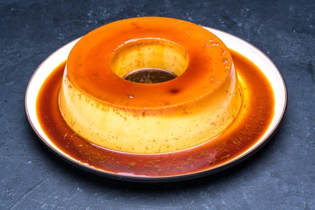 Caramel Flan 8″