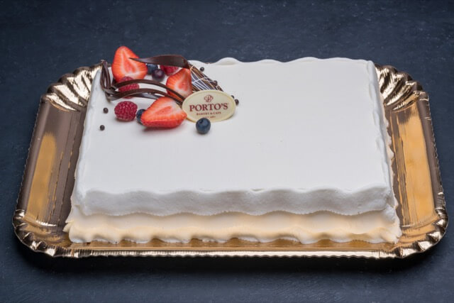 Tres Leches Cake 1/4 sheet