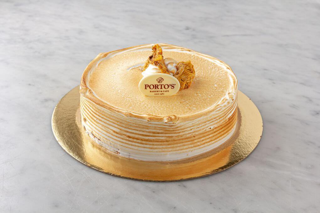 Cuban Cake 9″- Vanilla Custard & Pineapple Filling