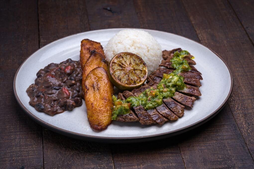 Grilled Steak Plato