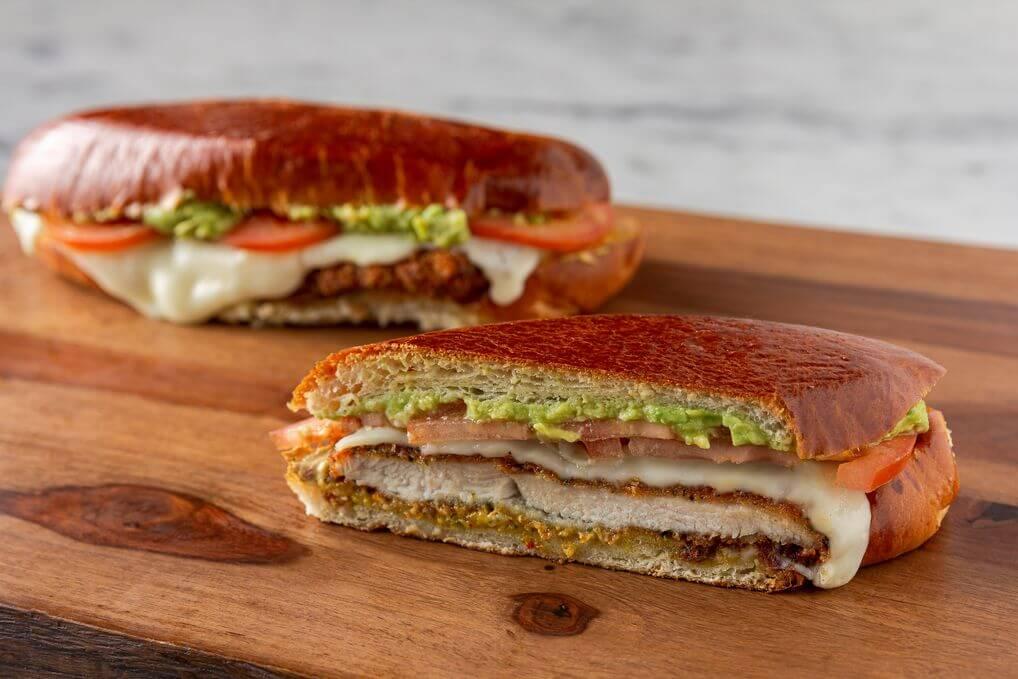 Spicy Chicken Milanesa Sandwich