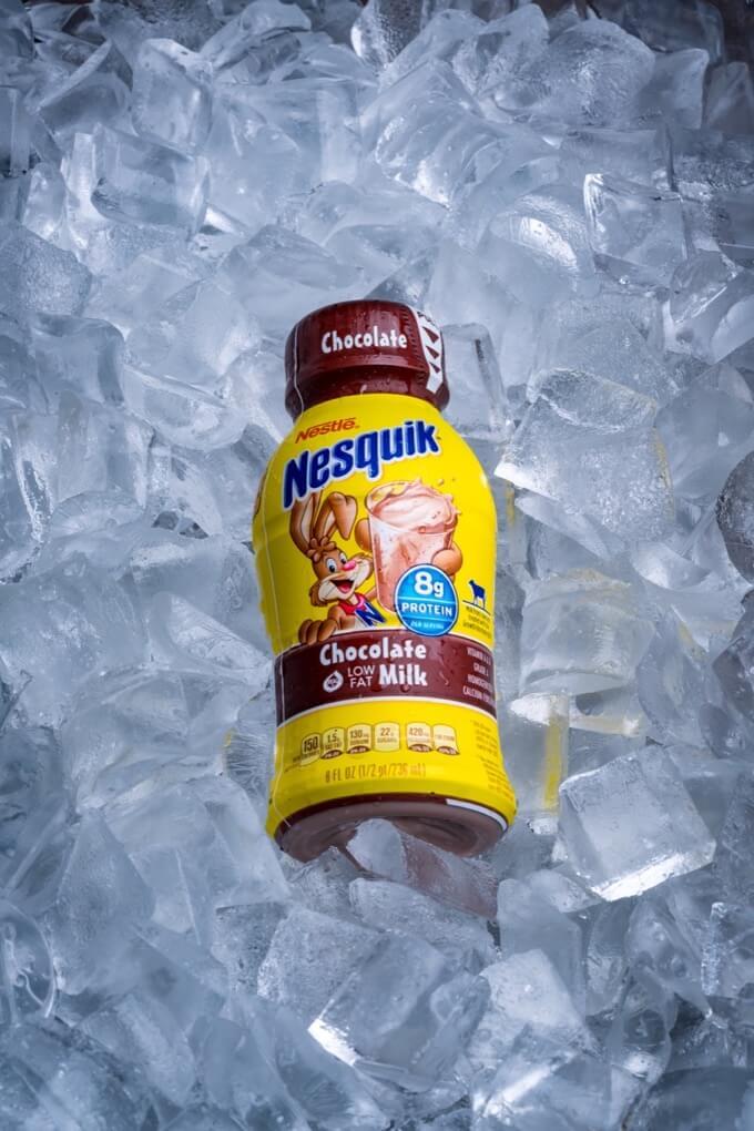 Chocolate Milk Nesquik® Bottle