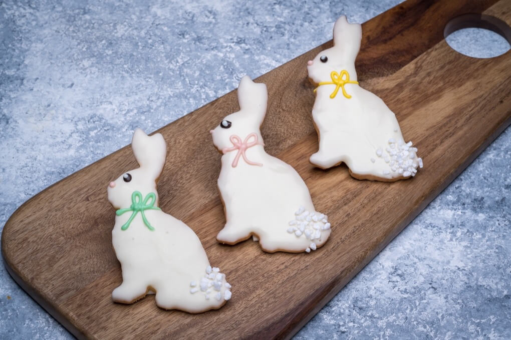 Decorated Bunny Cookie
