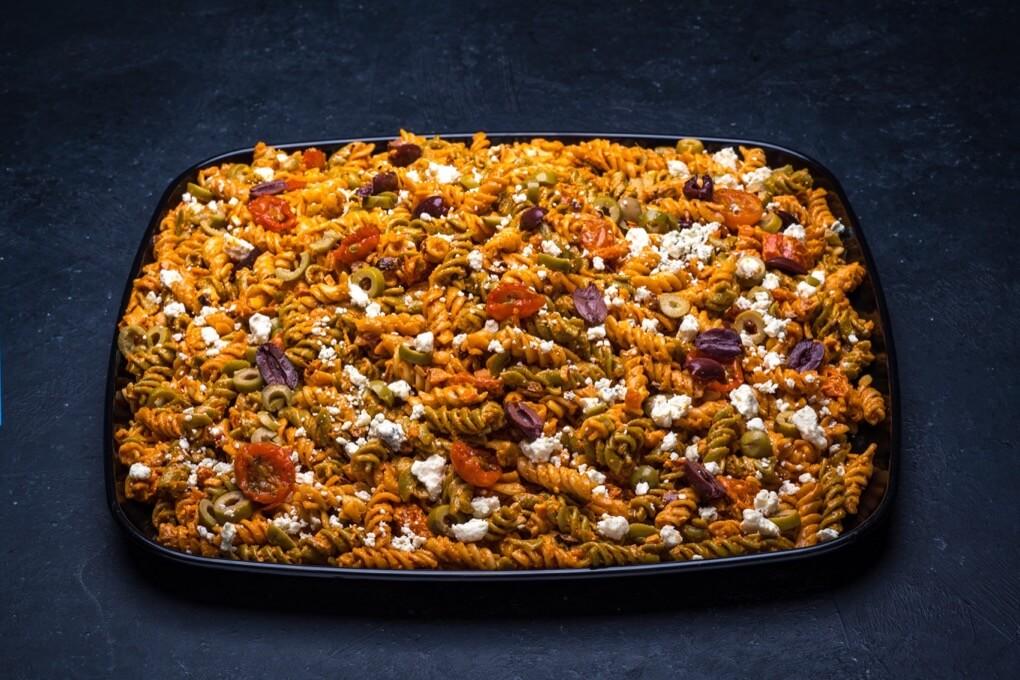 Mediterranean Pasta Salad Platter