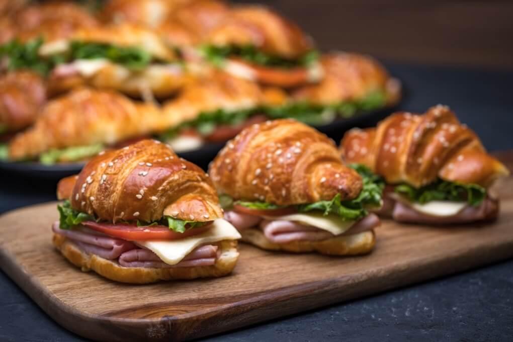 Mini Croissant Sandwich Platter