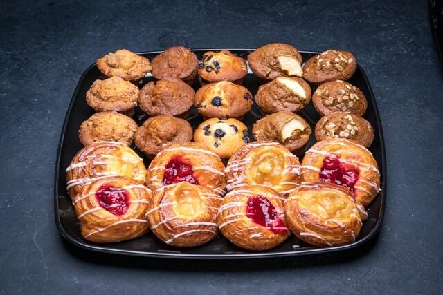 Mini Muffin and Danish Platter