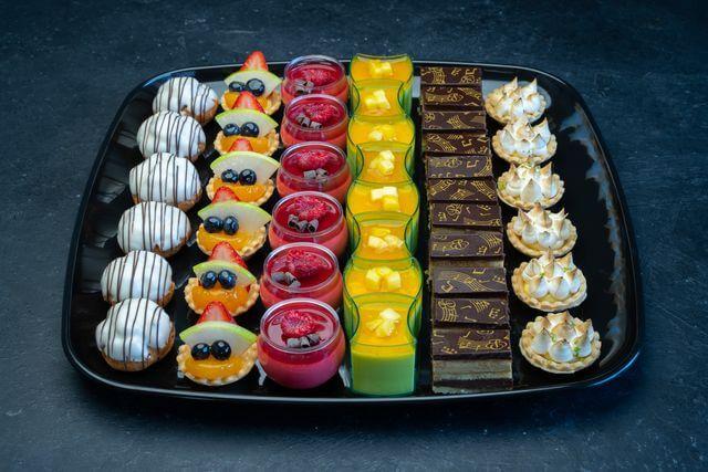 Fancy Mini Desserts Platter Large