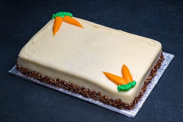 Carrot Cake 1/4 Sheet