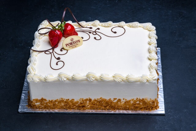 Strawberry Shortcake Cake 1/4 Sheet