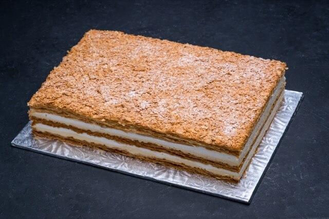 Napoleon Cake 1/4 Sheet