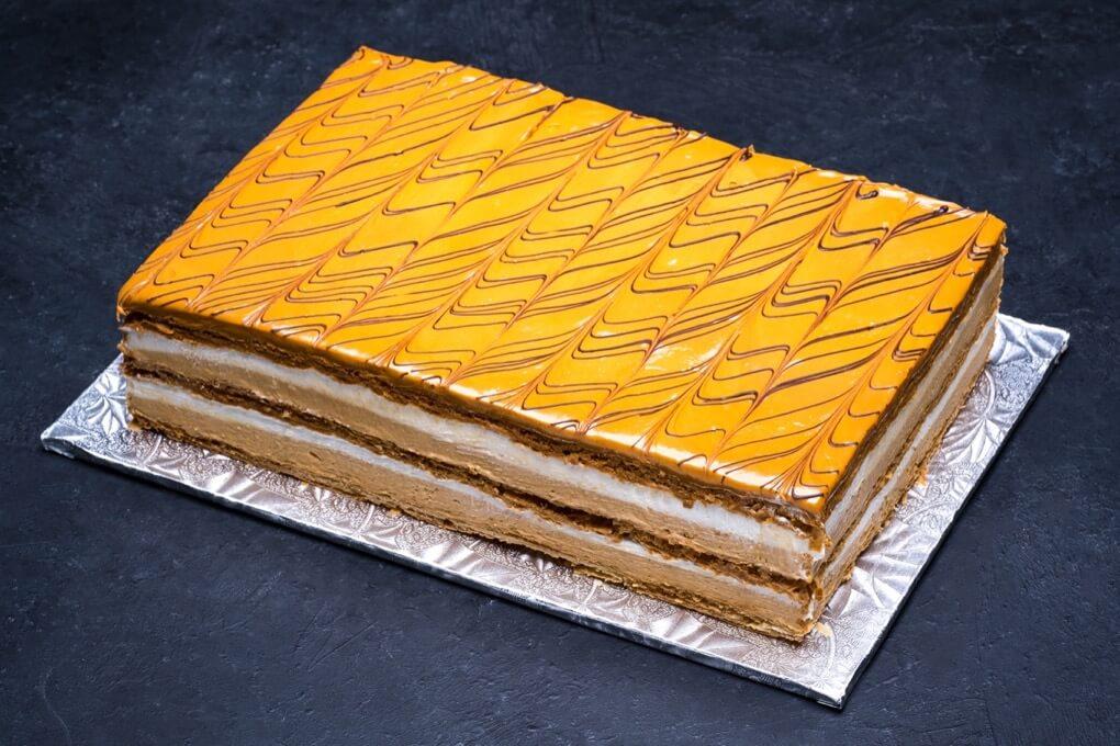 Napoleon Dulce de Leche Cake1/4 Sheet