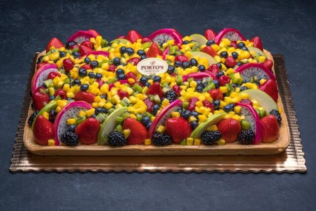 Fresh Fruit Tart 1/2 Sheet
