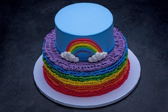 Ruffles and Rainbow #1805