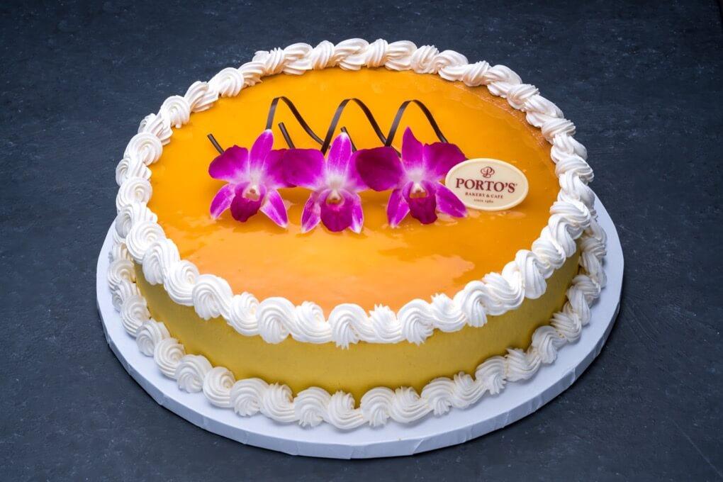 Mango Cheesecake 12″