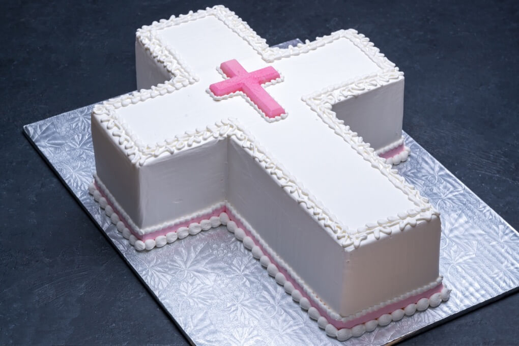 Cross with Pink #4803