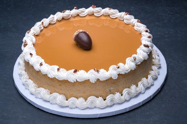 Pumpkin Cheesecake 12″