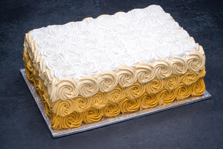 Ombre Gold Swirls Sheet #3827