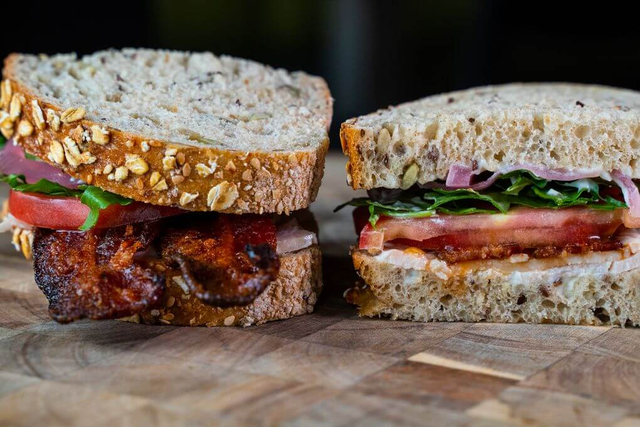 Turkey & Candied Bacon Sandwich