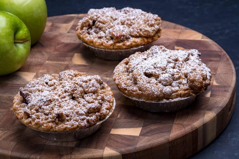 Dutch Apple Crumb Individual Pie