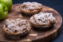 Dutch Apple Crumb Individual Pie