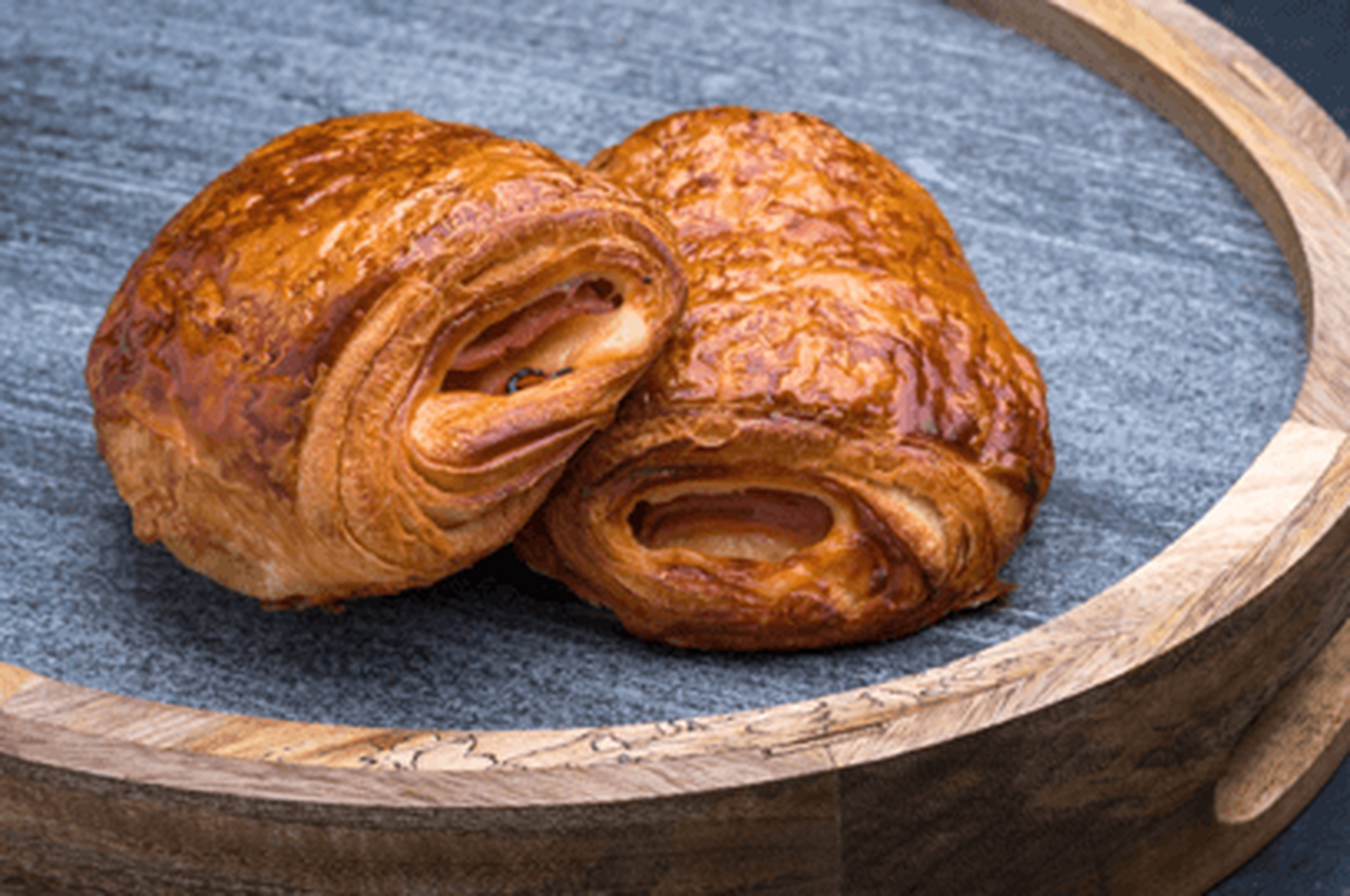 Baked Ham and Cheese Croissant