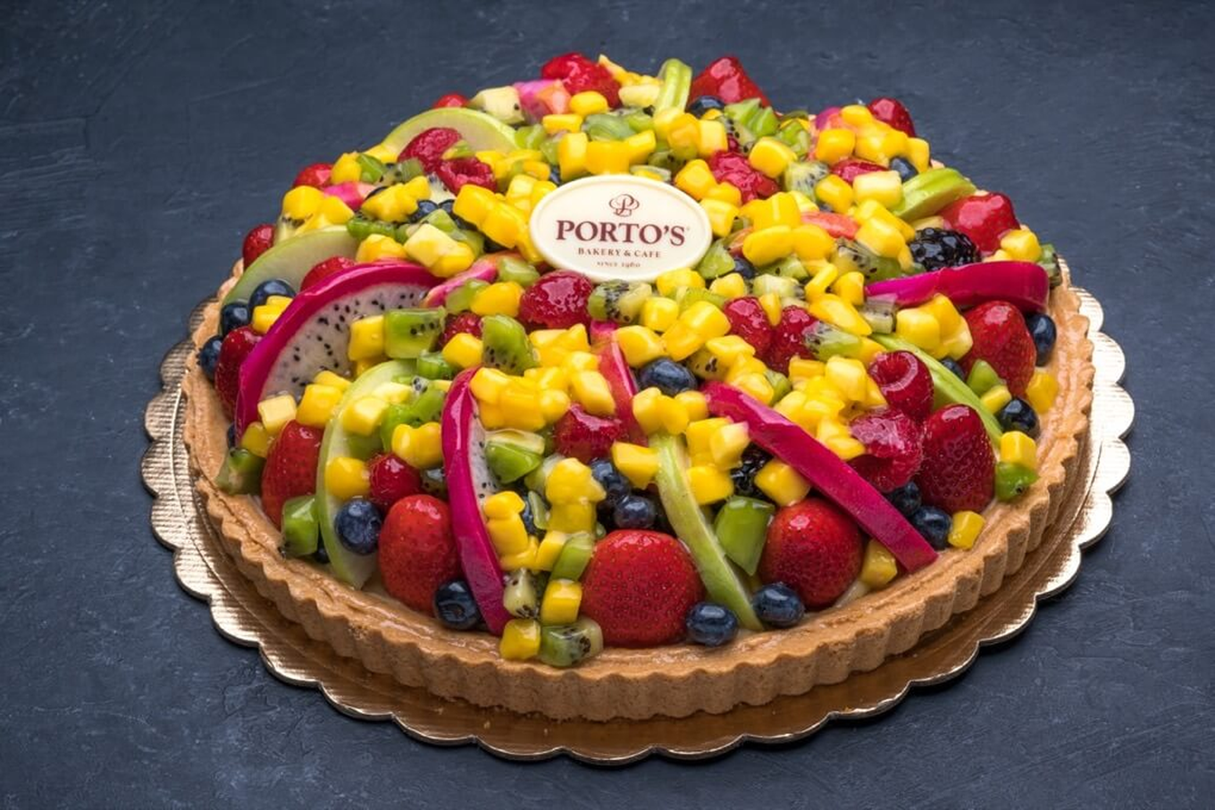 Fresh Fruit Tart 11 Portos Bakery