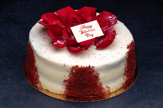 Valentine's Day Red Velvet 9″