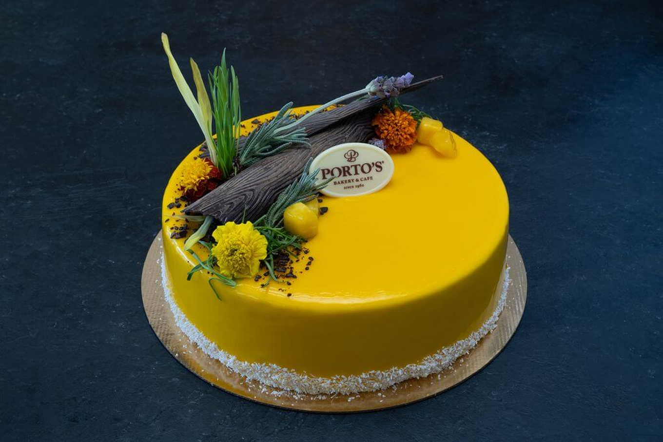 Easter Mango Mousse 9″