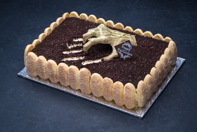 Halloween Tiramisu 1/4 Sheet