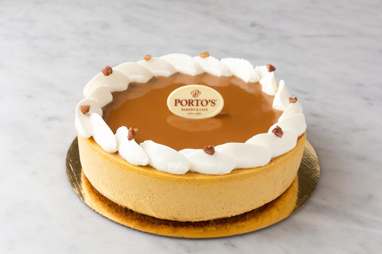 Pumpkin Cheesecake 9″
