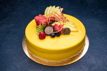 Thanksgiving Mango Mousse 9″