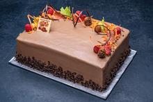 Thanksgiving Parisian Cake 1/4 Sheet