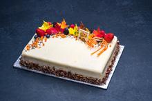Thanksgiving Carrot Cake 1/4 Sheet
