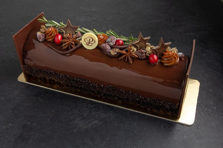 Holiday Yule Log – Chocolate Raspberry