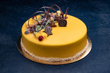 Holiday Mango Mousse 9″