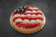 Flag Fruit Tart 11″