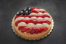 Flag Fruit Tart 11″