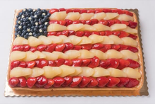 Flag Fruit Tart 1/2 sheet