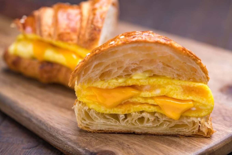 Cheese Omelette Sandwich