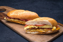 Bacon Omelette Panini