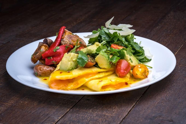 Omelette Plato