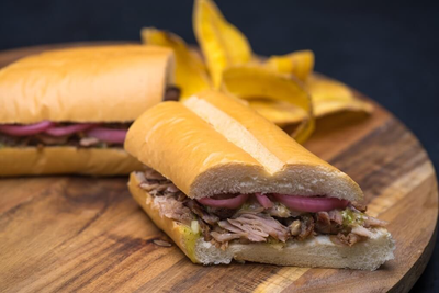 Pan con Lechon (Slow-Roasted Pork Sandwich)