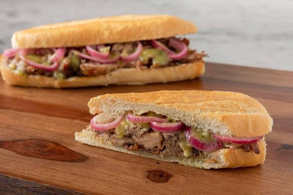 Pan con Lechon (Slow-Roasted Pork Sandwich)