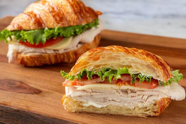 Turkey Croissant Sandwich