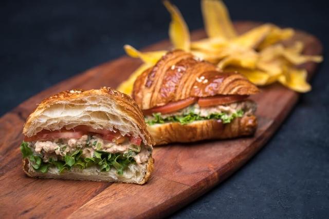 Tuna Croissant Sandwich