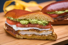 Spicy Chicken Milanesa Sandwich