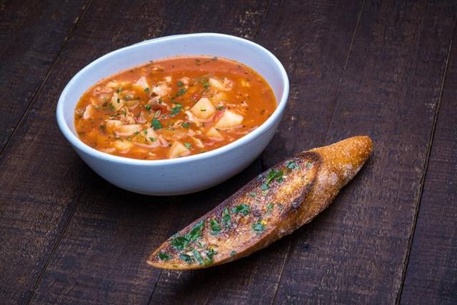 Manhattan Clam Chowder Soup